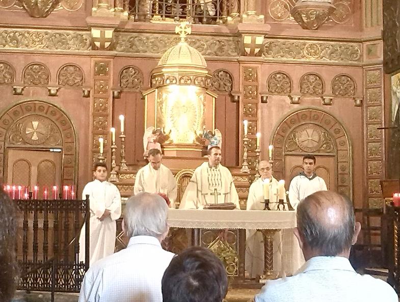Visita Sr. Bisbe de Solsona
