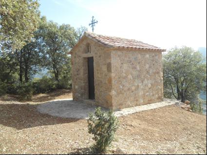Inauguració i benedicció de la Capella de St. Jaume